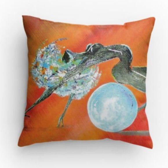 Media By Medina Other - 🍾HP Artist print decorative throw pillow 14x14 🆕